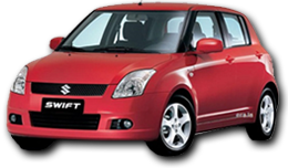 Image of a Suzuki Swift, find rate and reserve